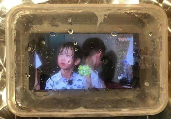 Huawei Mate 10 Pro во льду