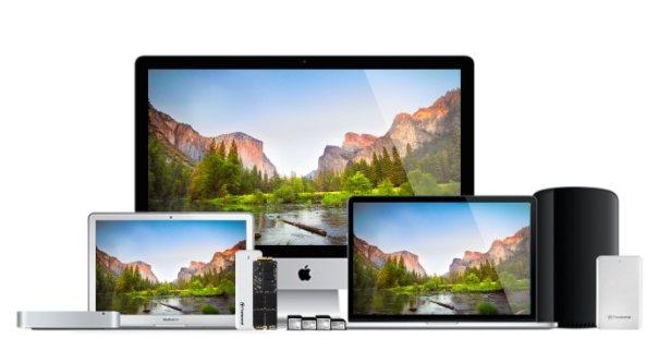 Transcend память для Mac
