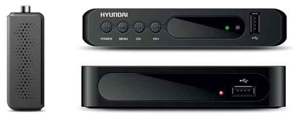 Hyundai представила ТВ-ресиверы DVB-T2