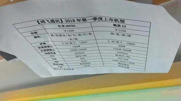 Xiaomi Redmi Note 5 и Meizu E3