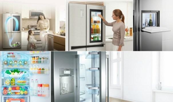 Холодильник side-by-side