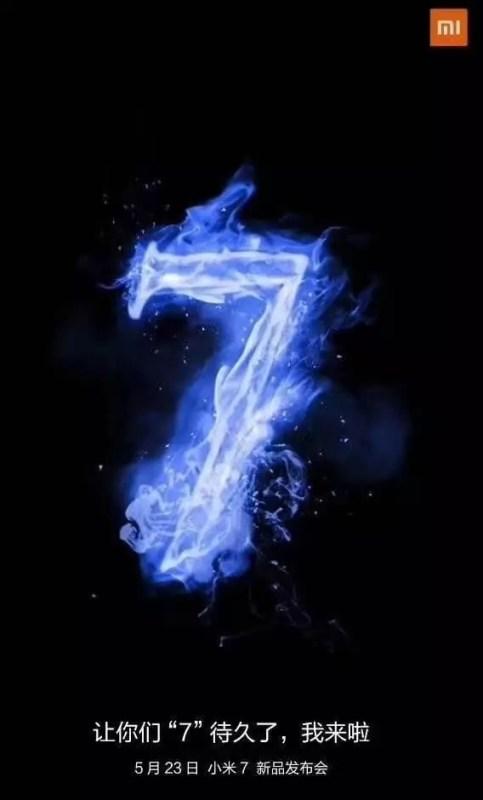 Mi 7 запуск