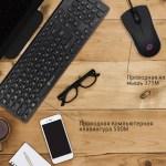 Новые клавиатура Oklick 590M и мышь 375М Oklick