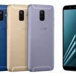 Samsung Galaxy A6 и A6+ стартуют в Украине
