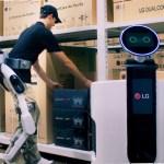 CLOi SuitBot – первый ориентированный на человека робот компании LG