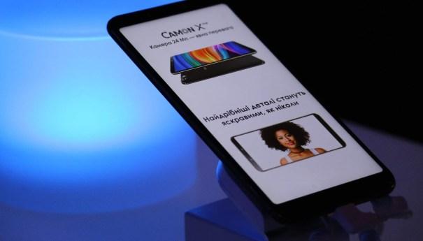 Tecno Mobile официально представил в Украине 5 камерофонов