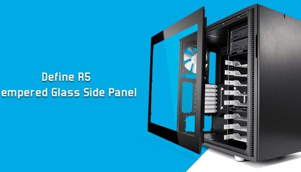 Fractal Design анонсирует комплект панелей из закаленного стекла для корпусов Define R5 и Define S