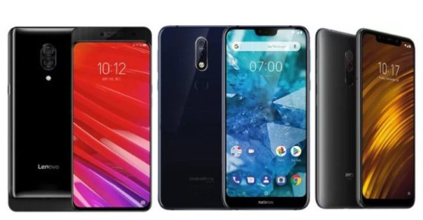 Xiaomi Pocophone F1, Lenovo Z5 Pro, Nokia 7.1 Plus