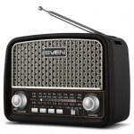 Портативные радиоприемники SVEN SRP-525, SRP-535 и SRP-555