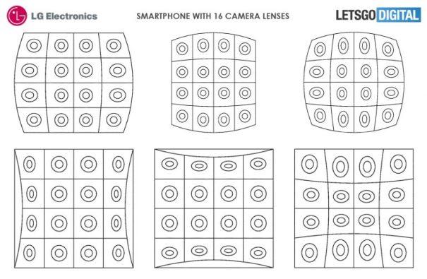 LG смартфоны с 16 камерами