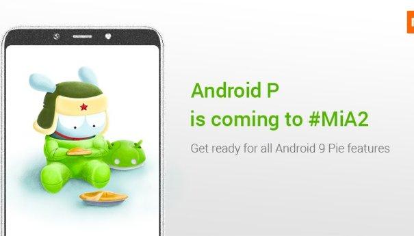 Xiaomi Mi A2 обновляется до Android 9.0 Pie