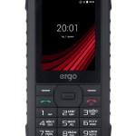 Новый защищенный мобильный телефон ERGO F245 Strength