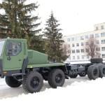 Cамоходное шасси КрАЗ 8х8 с АКПП для установки тяжелых вооружений