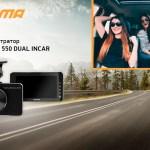 DIGMA FreeDrive 550 DUAL INCAR: запись поездки внутри и снаружи