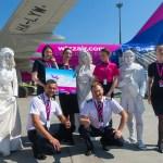 Wizz Air выполнила свои первые рейсы из аэропорта «Киев» в Афины и Салоников