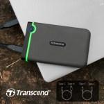 Transcend представляет новый портативный противоударный HDD StoreJet 25M3C с USB Type-C