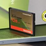 SanDisk Extreme CompactFlash 128GB (SDCFXSB-128G-G46) – скоростной и надежный CompactFlash!