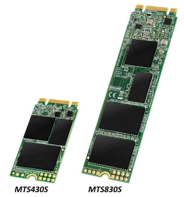 Transcend MTS430S и MTS830S