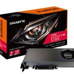 GIGABYTE представляет графические платы семейства Radeon RX 5700
