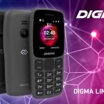 DIGMA LINX С170 — кнопочный телефон для звонков