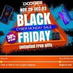 В «Черную пятницу» покупателей DOOGEE ждут 50% скидки