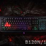 Игровые клавиатуры Bloody B120N и B125N: точность и удобство
