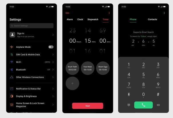 ColorOS 6 на базе Android 10 - новая оболочка смартфонов OPPO Reno