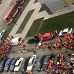 ПриватБанк требует обеспечить соблюдение законности и правопорядка при проведении пикетов возле главного офиса