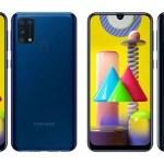 Samsung Galaxy M31 получил 64 Мп квадрокамеру, 32 Мп селфи-камеру и батарею 6000 мАч