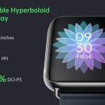 OPPO Watch — смарт-часы со встроенной связью и гибким дисплеем