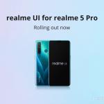 Realme 5 Pro и Realme X получат обновление пользовательского интерфейса и Android 10