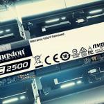 Новые производительные SSD накопители от Kingston