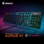 GIGABYTE представляет механическую игровую клавиатуру AORUS K1