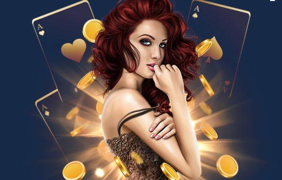 казино девушка