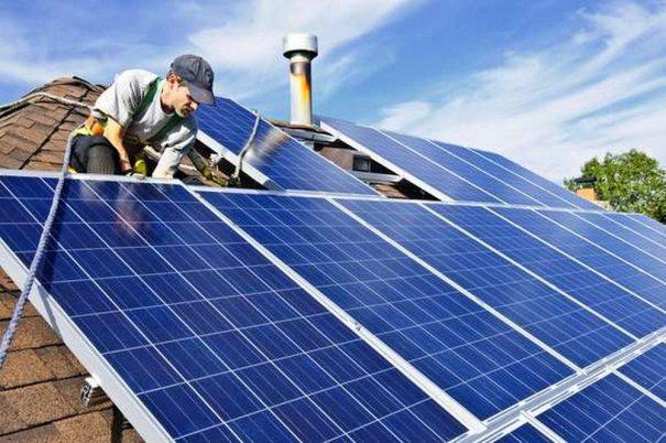 Солнечная электростанция для частного дома