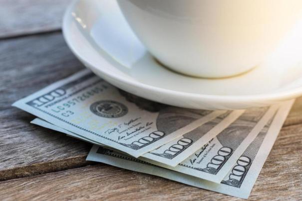 кофе и деньги