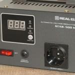 REAL-EL STAB-500 М – стабилизатор для маломощных устройств