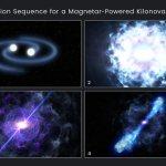Хаббл зафиксировал колоссальный взрыв от слияния двух нейтронных звезд
