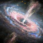 Квазары разлетаются по галактикам подобно цунами