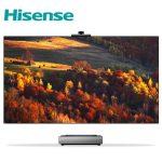 Hisense выпустила лазерные телевизоры L9F с AI камерой и экранами 75 и 80 дюймов
