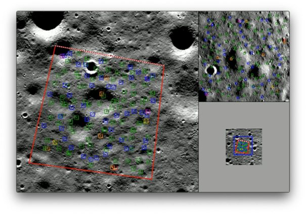 Навигация BlueNav-L для посадки на  Луну
