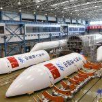 Китай готовит секционный твердотопливный ракетный двигатель для полетов на Луну