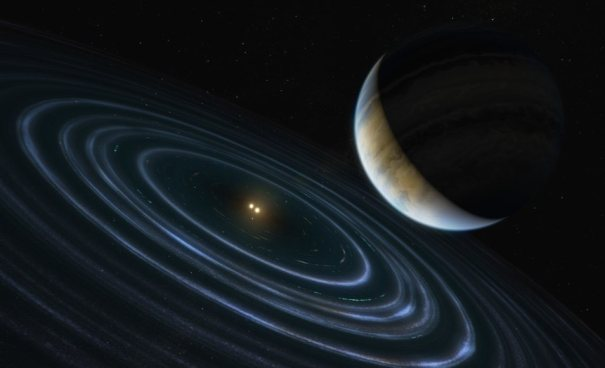 Экзопланета массой 11 Юпитера под названием HD 106906 b
