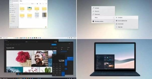 "Windows 10 21H2 ""Sun Valley UI"""