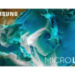 Samsung разработала новую технологию MICRO LED для больших телевизоров