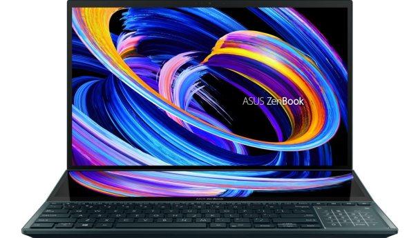 ASUS представляет новые ZenBook с двумя экранами