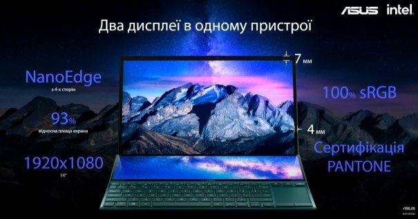 ASUS ZenBook Duo 14 (UX482)