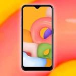 Бюджетный смартфон Samsung Galaxy A02