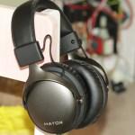 Hator Hyperpunk (HTA-821) Gunmetal/Black: металлическая гарнитура со съемным микрофоном и сборным кабелем
