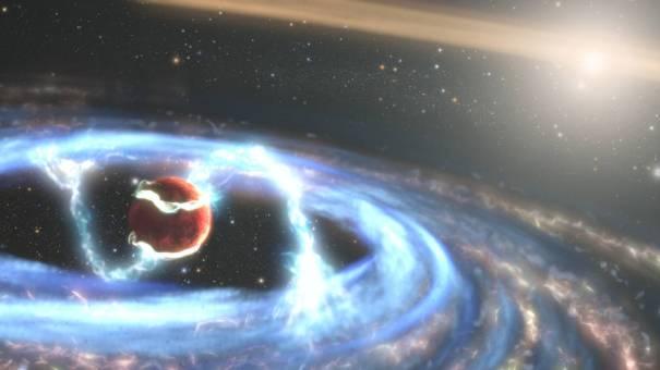 Формирование экзопланеты PDS 70b